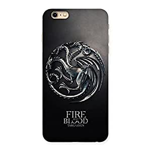 Ajay Enterprises Blood Fire Emb Back Case Cover for iPhone 6 Plus 6S Plus