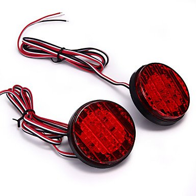 2x-rouge-18-conduit-pare-chocs-arriere-lampe-a-ampoule-reflecteur-pour-08-13-toyota-sequoia