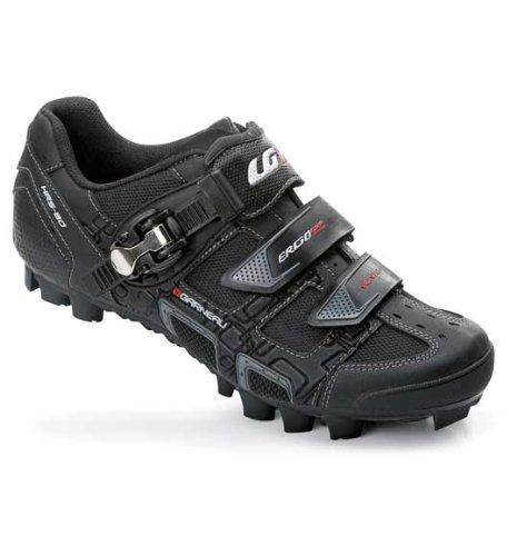 Louis Garneau 2012 Men's Monte Mountain Bike Shoes, Black, 47