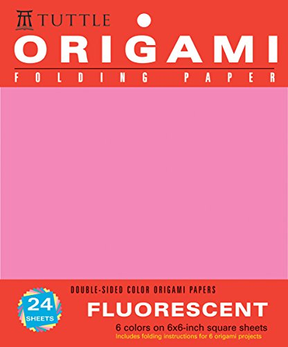 Origami Hanging Paper - Fluorescent 6 - 24 Sheets: (Tuttle Origami Paper) PDF