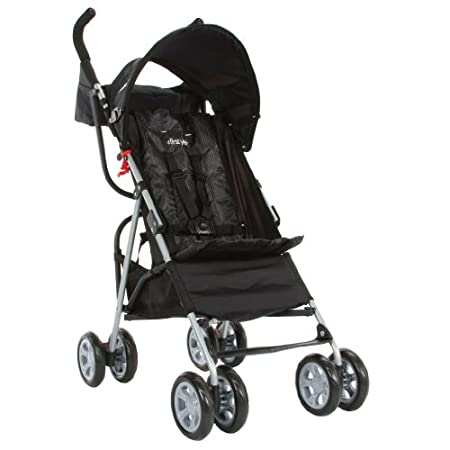 The First Years Jet Stroller-Easier for You, More Comfortable for your Baby. Finally a stroller that is durable and, yes, it really will comfortably fit your little one up to 50 pounds. The wider seat base means a more comfortable ride for your child...