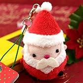StrapyaNext むにゅっとメリクリ クリスマス ムニュマム携帯ストラップ(サンタさん)6090