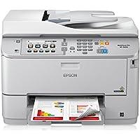 Epson WorkForce Pro WF-5690 Wireless Inkjet All-in-One Printer with Duplex (White)
