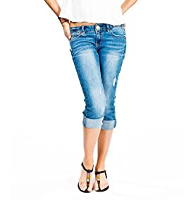 Whitney Cuff Cropped Jeans