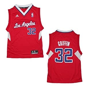 NBA LOS ANGELES CLIPPERS Youth Pro Quality Athletic Jersey Top by NBA
