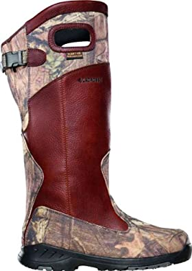 LaCrosse Men's Adder Scent 18 Inch HD Snake Boot,Brown/Mossy Oak Infinity,7.5 M US