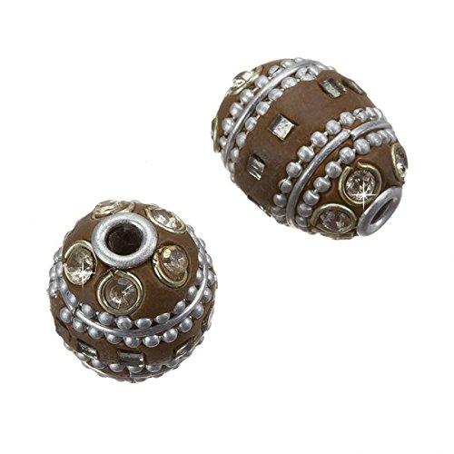 maruti-realizzato-a-mano-lac-kashmiri-ovale-marrone-perline-20-mm-2-pezzi
