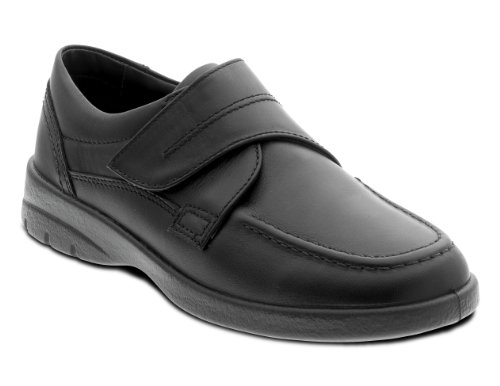 Mens New Wide Fitting Orthotic Velcro Shoes