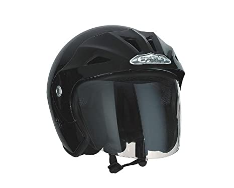 Casque Speeds Jet Sportive noir brillant taille M