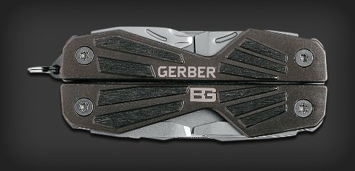 Gerber戈博 31-000750 Bear Grylls 多功能工具钳/随身工具,小巧轻便,可挂钥匙扣图片