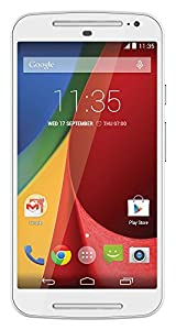 Motorola Moto G 5-Inch (2nd Gen UK Stock) Dual Sim 8GB SIM-Free Smartphone White (discontinued by manufacturer)
