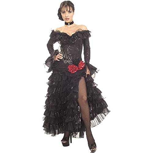 Womens Spanish Dancer Costume (Size:Large 14-16)