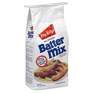 Fry krisp old fashioned batter mix 5 pounds pack of for Fish fry mix