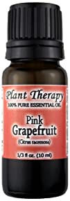 Grapefruit Pink Essential Oil. 10 ml. 100 Pure Undiluted