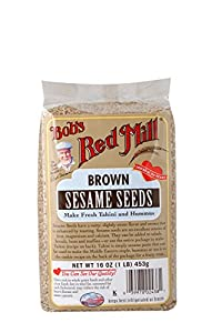 Bob's Red Mill Brown Sesame Seeds, 16-Ounce Bags (Pack of 4)