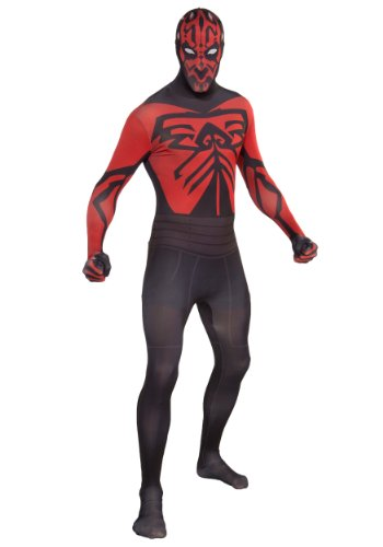Rubies Mens Darth Maul Morph Star Wars Style Skin Suit Party Costume