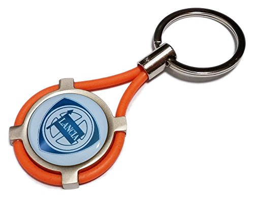 new-lancia-ypsilon-car-keyring-or
