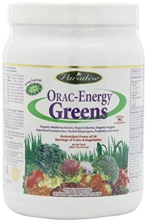 Paradise Herbs Orac Energy Powder, Greens, 364 Gram