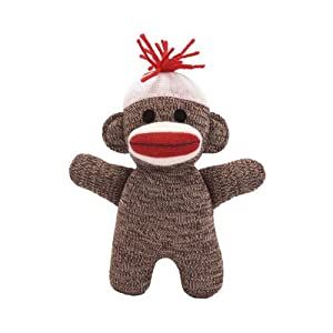Sock Monkey Baby - Brown at 'Sock Monkeys'