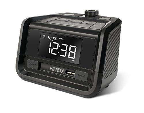 Hmdx Hx-B220 Sleep Station Projection Alarm Clock With Fm Radio
