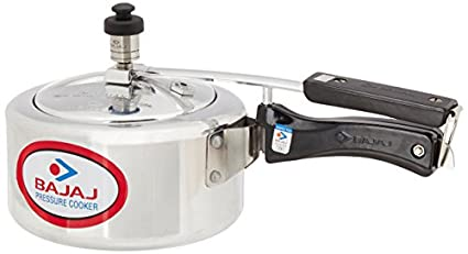 Bajaj Majesty Aluminium 2 L Pressure Cooker (Inner Lid)
