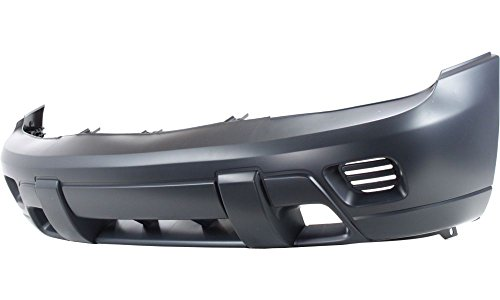 New Evan-Fischer EVA17872019571 Front BUMPER COVER Primed Direct Fit OE REPLACEMENT for 2002-2009 Chevrolet Trailblazer 2002-2006 Chevrolet Trailblazer EXT *Replaces Partslink GM1000640 (Blazer Front Bumper compare prices)