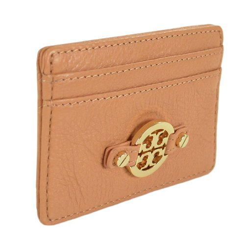 Tory Burch Tory Burch Amanda Slim Card Case Aged Vachetta