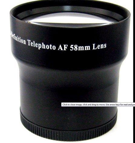 Professional 3.5X Super Telephoto Hd Lens Kit With Adapter For Panasonic Dmc-Fz70 Camera