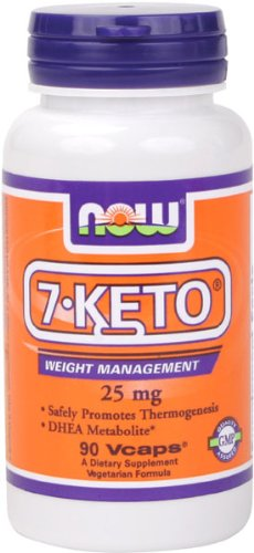 NOW Foods 7-Keto 25mg, 90 Vcaps
