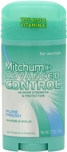 Lady Mitchum Women's Advanced Control, Pure Fresh, 2.7 Ounce (309971103322)