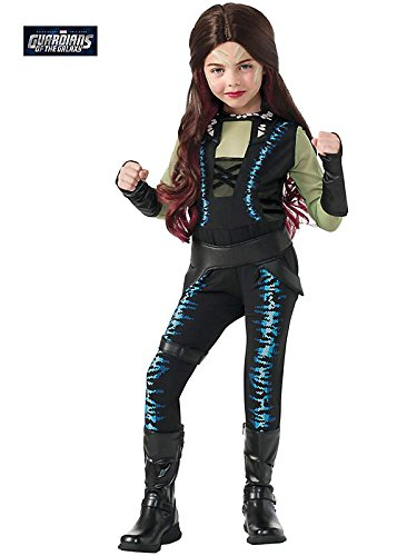 Rubie's Costume Guardians of the Galaxy Deluxe Child's Gamora Costume