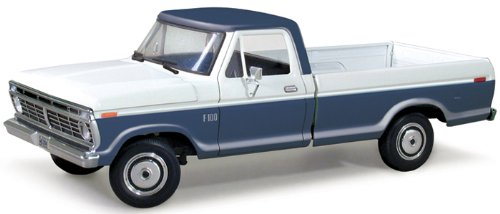 1973 Ford F-100 Style Side Pickup Harbor Blue/White 1/25 by First Gear 40-0316 (Diecast First Gear compare prices)