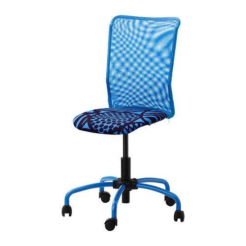 IKEA(イケア) TORBJ?RN ブルー 00217900 回転チェア、ブルー