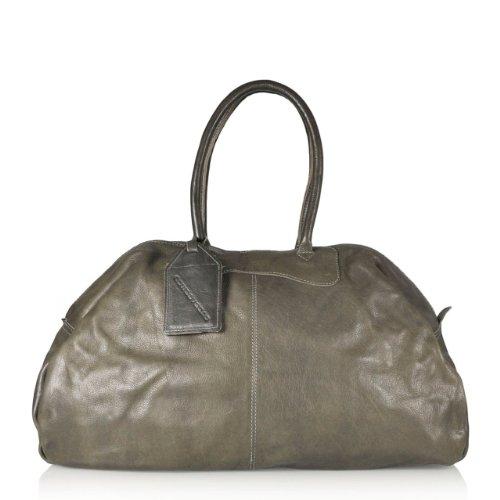Chicago Reisetasche von Cowboysbag in Grau
