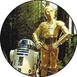 Star Wars(スター・ウォーズ) R2D2 and C3P0 缶バッジ
