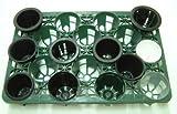トレー 18穴 PTM-18 プラスチックトレイ