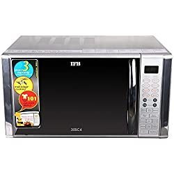 IFB 30SC4 30-Litre Convection Microwave Oven (Metallic Silver)