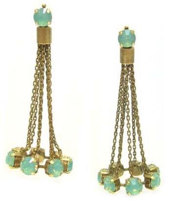 Frangos jewelry frangos nicolas gold plated chandelier post stud