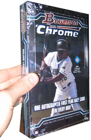 2004 Bowman Chrome Baseball Cards Hobby Box
