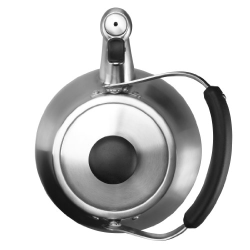 OXO Good Grips Classic Tea Kettle Brushed Stainless Whistling New