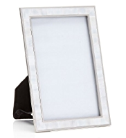 White Mother of Pearl Photo Frame 10 x 15cm (4 x 6