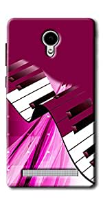DigiPrints Silicon Designer Back Cover for Vivo Y28-Multicolor