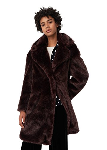 mango-womens-faux-fur-coat-purple-xs
