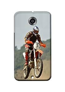 Motorola Nexus 6 Cover, Premium Quality Designer Printed 3D Lightweight Slim Matte Finish Hard Case Back Cover for Motorola Nexus 6 + Free Mobile Viewing Stand
