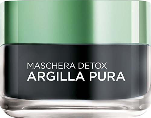 L'Oréal Skin Expert Paris Maschera Detox Argilla Pura, 50 ml