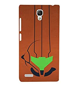 EPICCASE abstract art Mobile Back Case Cover For Xiaomi Redmi Note Prime (Designer Case)