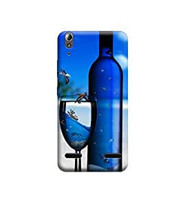 EPICCASE Premium Printed Back Case Cover With Full protection For Lenovo A6000 (Designer Case)