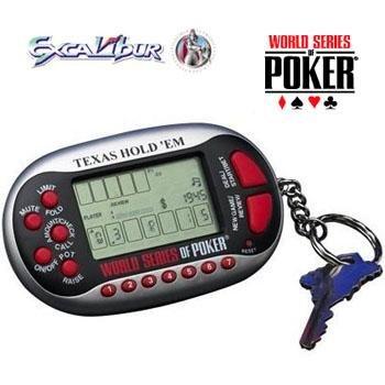 World Series of Poker Texas Hold 'Em Casino Keychain Casino Game - 1