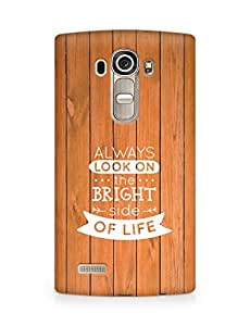 Amez Always look on the Bright Side of Life Back Cover For LG G4