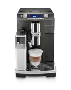 Delonghi ECAM26.455.B Bean to Cup Coffee Machine, 2 Litre , 15 Bar - Black Liquoice